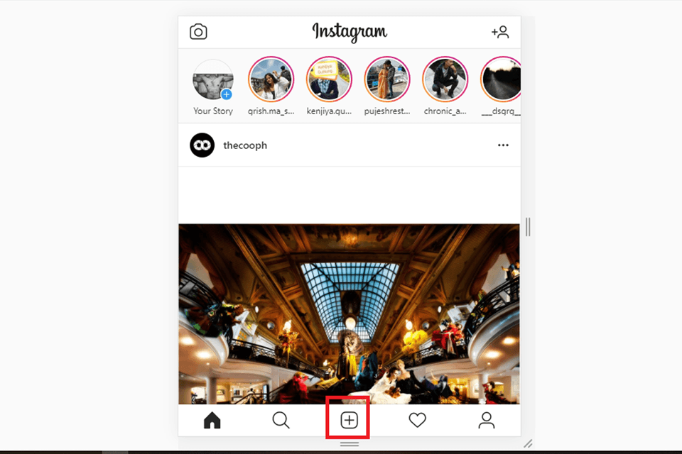 Upload Image On Instagram From PC