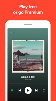 Spotify App Screenshot Three