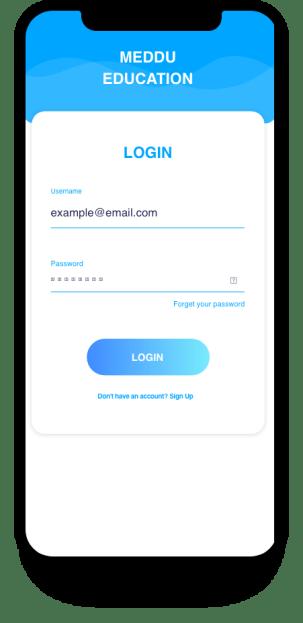 Android Login Registration Xml Free Designs App Snipp