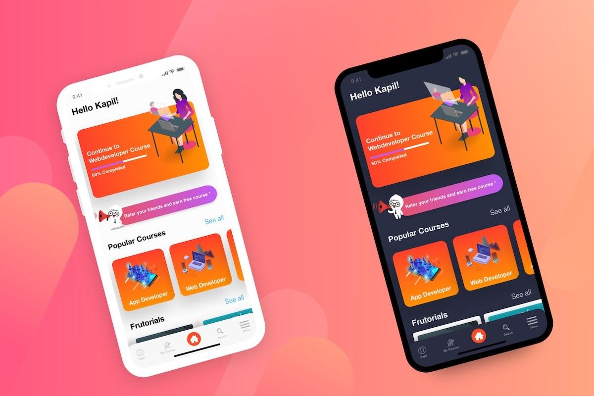 education app preview