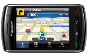 blackberry gps  app