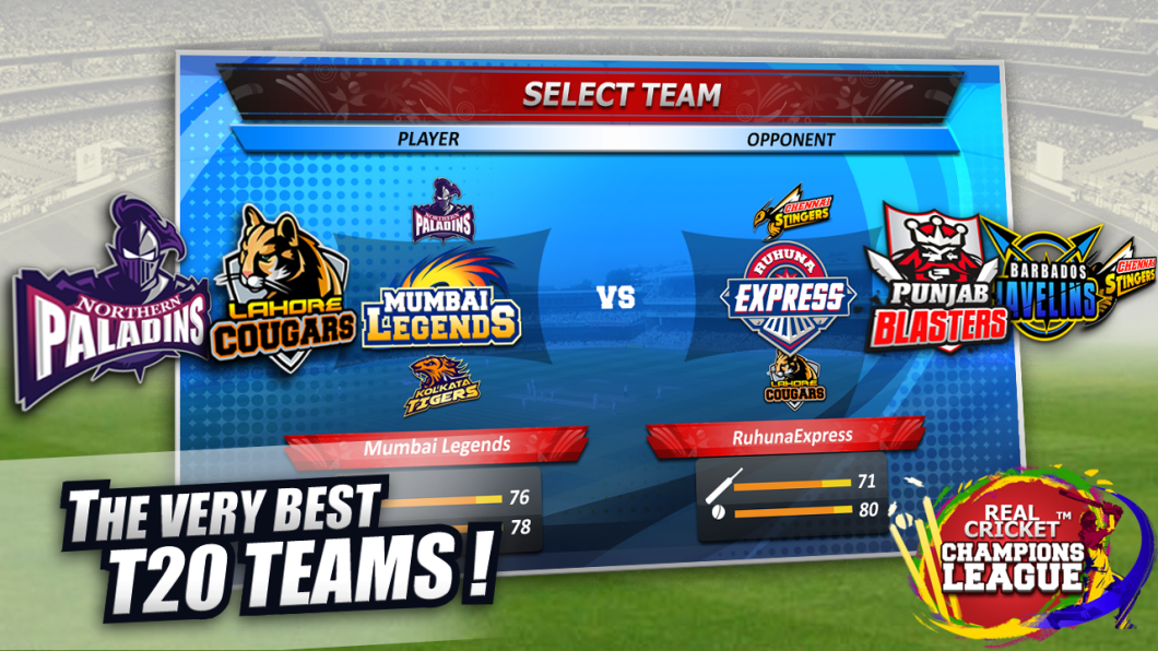 Real Cricket Champions League for pc download