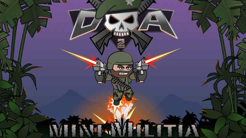 download doodle army 2 mini militia for pc