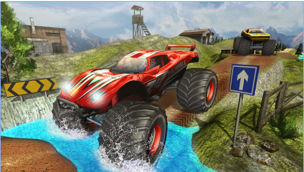 monster truck hill racing for pc download