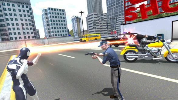 Amazing Strange Rope Police Vice Spider Vegas For PC