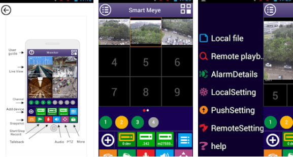 Smart Meye for Windows: Cameras and Controls via Desktop