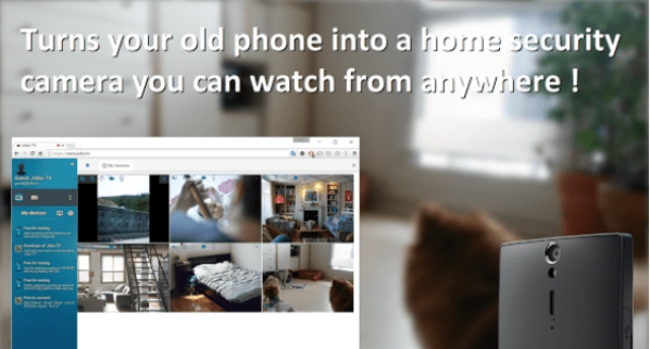 Security web camera for PC