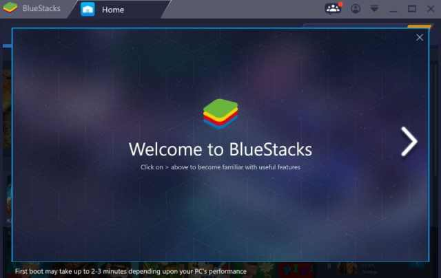 Download Bluestacks Android emulator