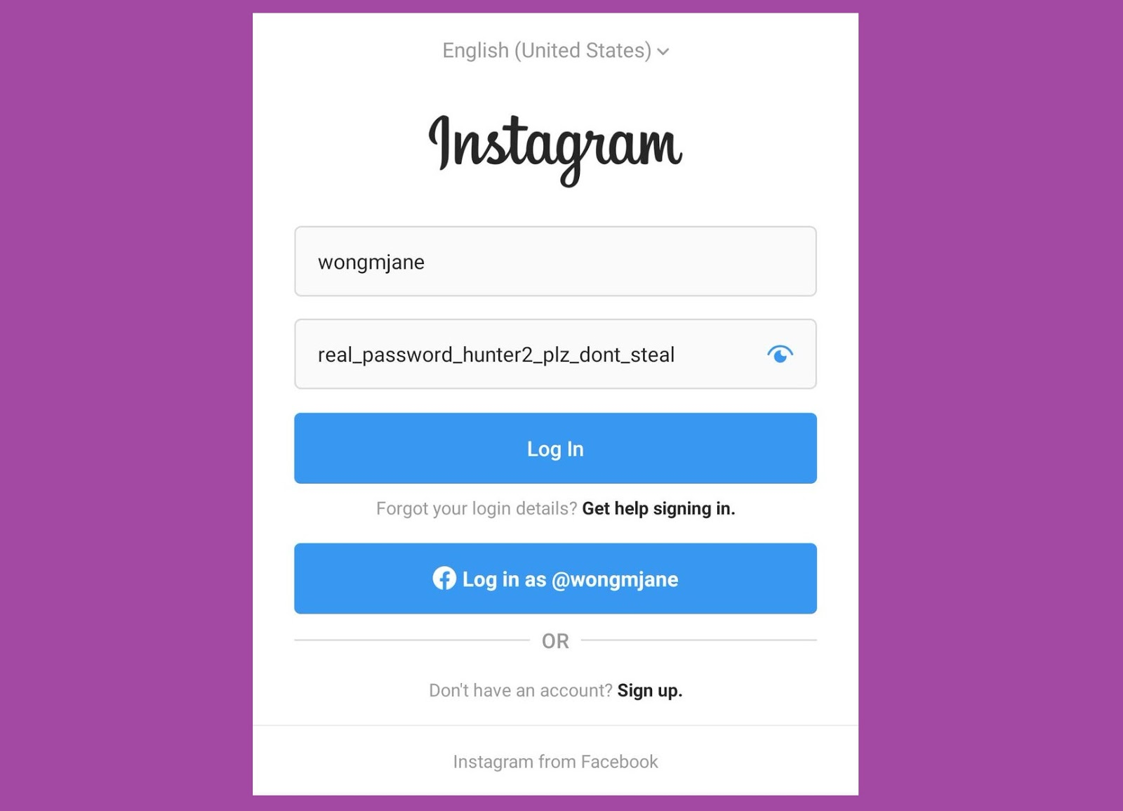 Create Instagram Fake Page