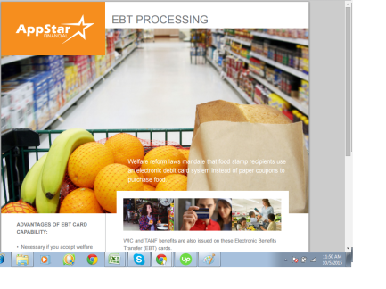 EBT Processing