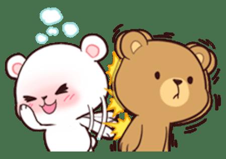 Cute Couple Hug Wallpaper Hd Milk And Chocolate Lovely Bear By Van Khanh Nguyen