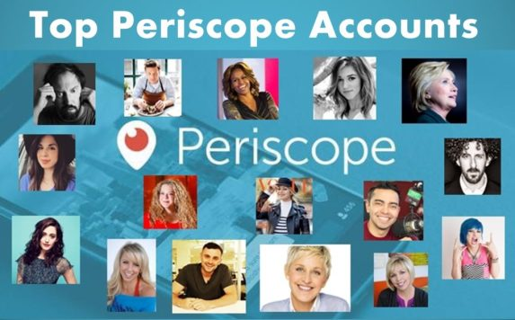 Celebrities on Periscope - Top People to Follow on Periscope