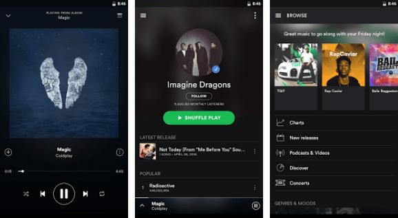 Download Spotify Premium and Free version for all devices