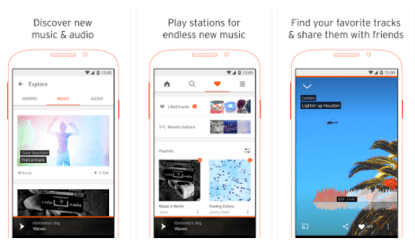 souncloud music player