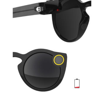Low Snapchat Spectacles Battery