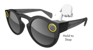 stop taking snaps with snap specs