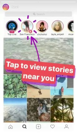 How To View or See Instagram Location Story