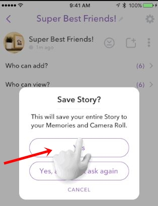 How to delete a custom group on snapchat