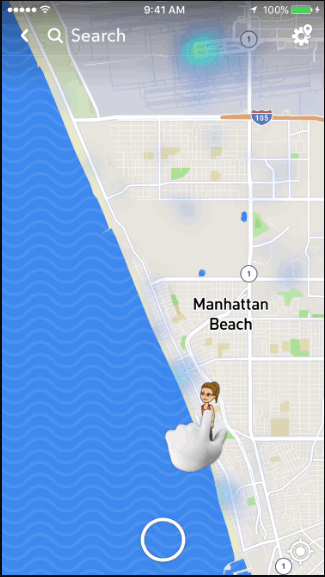 find friends on snap map