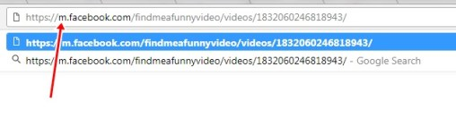 facbook video download on chrome