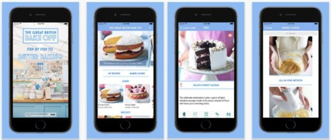 The Great British Bake Off Step by Step Better Baking app