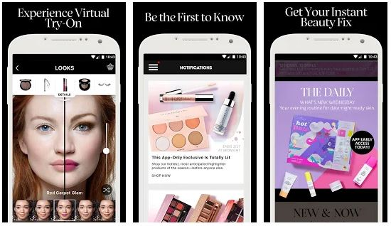 The app is available for both Android and iOS devices. Some of the amazing features of Sephora app includes a virtual artist makeover that can help you ...