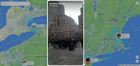 How to find Snaps, Stories and Friends on Snap Map