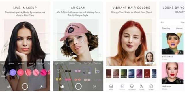 The app lets you try out exclusive makeup looks created by industry's top professionals. These includes Bretman Rock, Nikkie Tutorials, Lisa Eldridge, ...