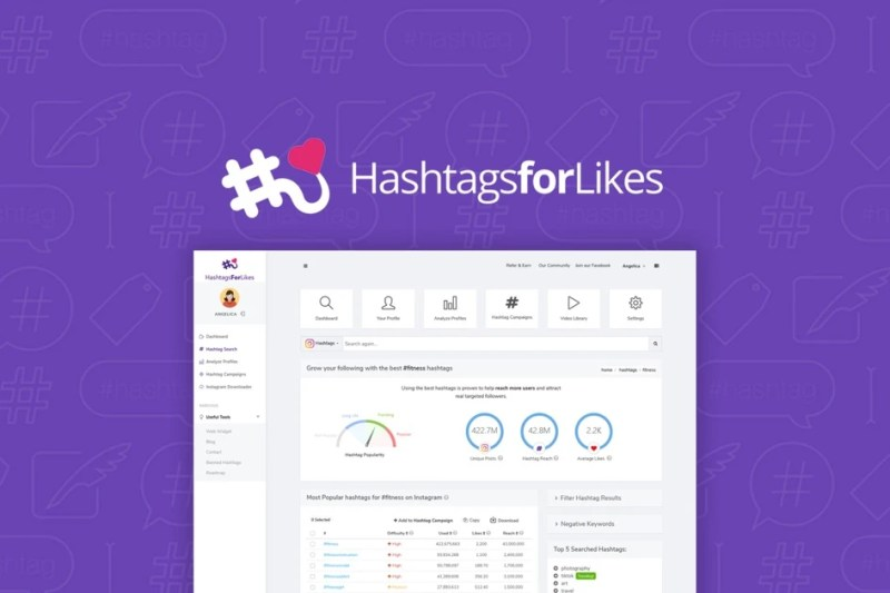 HashtagsForLikes | Exclusive Offer from AppSumo