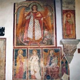 Affreschi nella chiesa della Maddalena