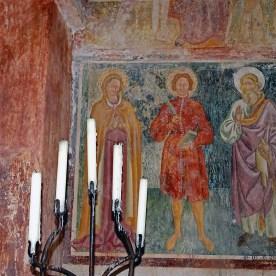 Affreschi nella Badia di San Sebastiano