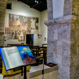 Affreschi nella chiesa di San Silvestro