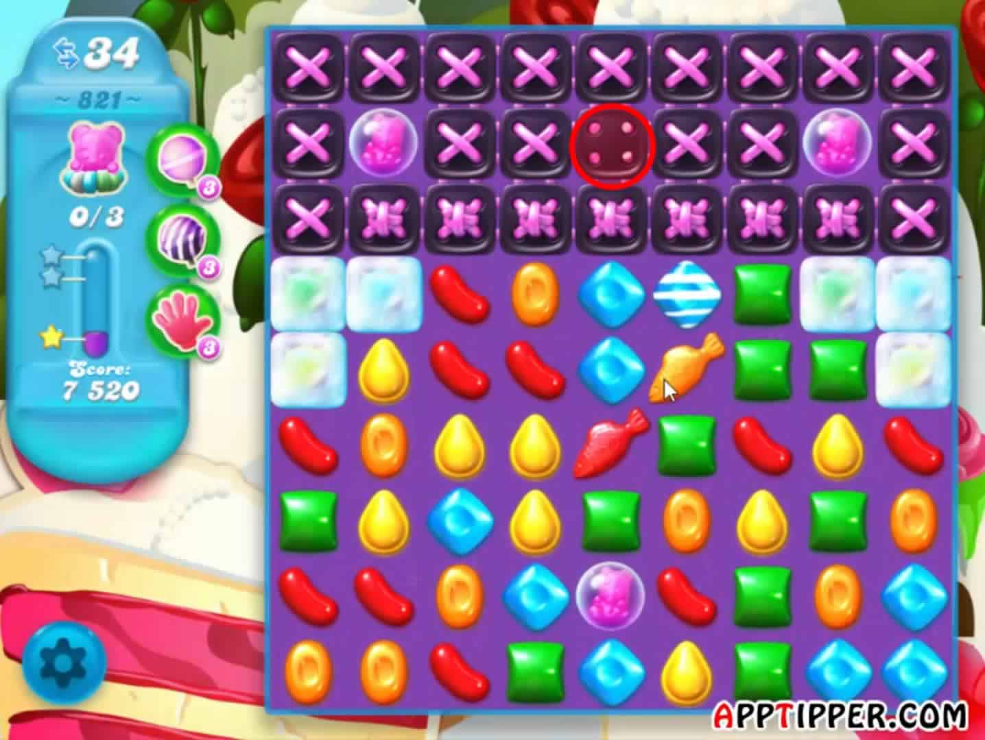 candy crush sofa distressed leather chesterfield soda saga level 821 tips and video