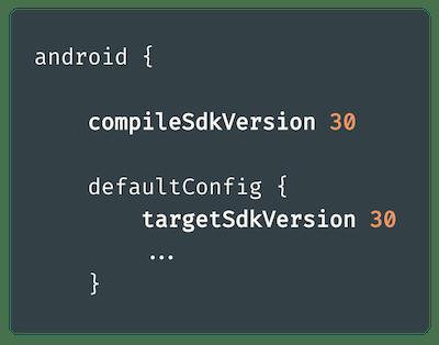 compileSdkVersion и targetSdkVersion: в чем разница?