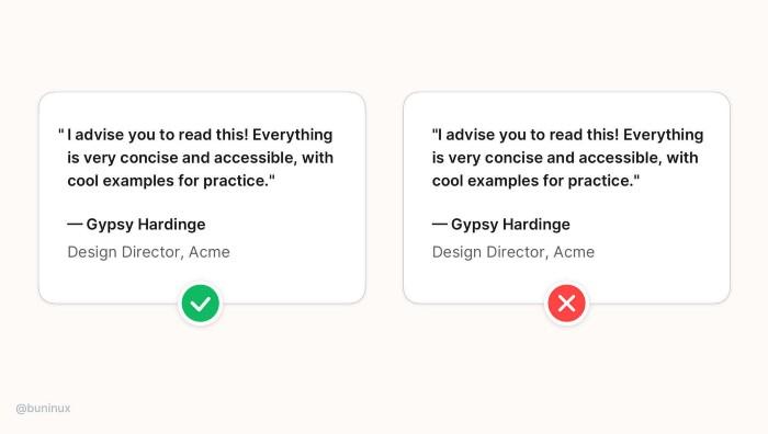 Лучшие практики выравнивания текста в интерфейсе