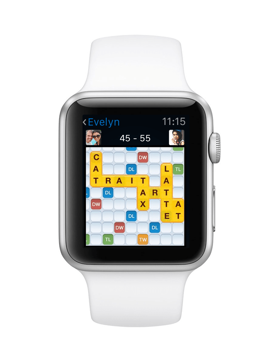 Words With Friends Now On Apple Watch