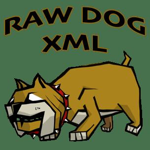Raw Dog XML Viewer Mac app icon 305 x 305.