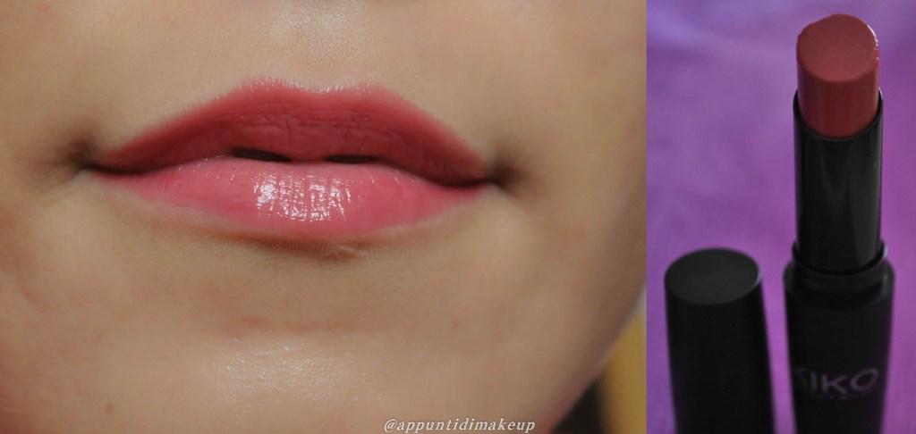 kiko glossy 805 - rosa fragola