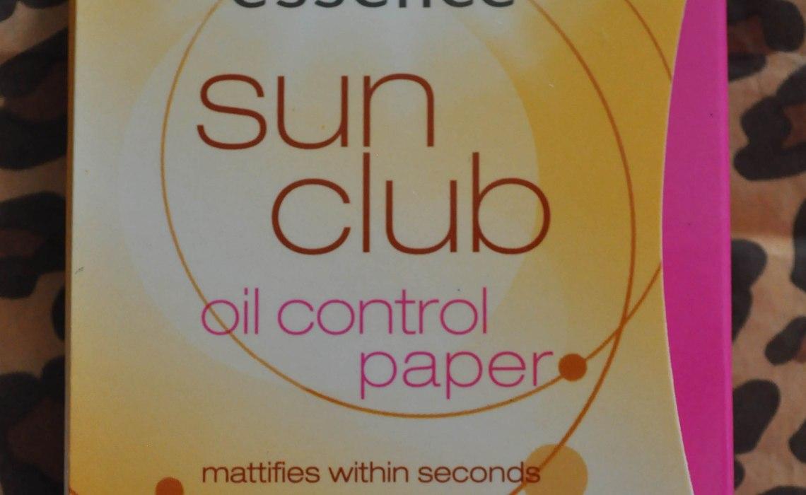 Essence Sun Club Oil Control Paper