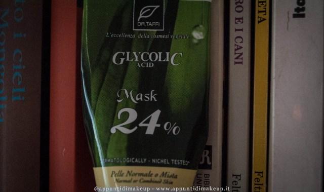 glycolic mask 24% dr taffi