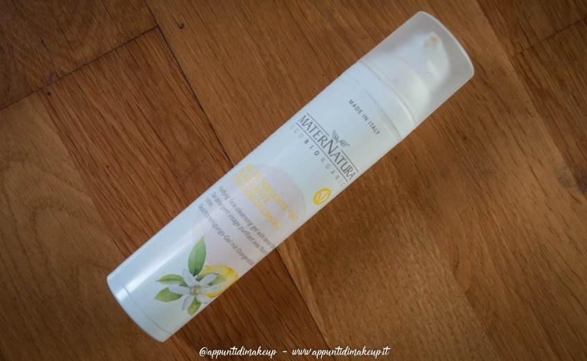 Maternatura – Gel detergente viso purificante con fiori di limone