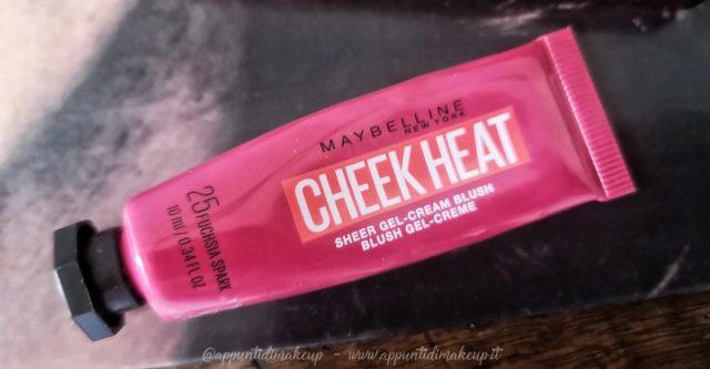 Maybelline - Cheek Heat Gel-cream blush in 25 fuchsia spark