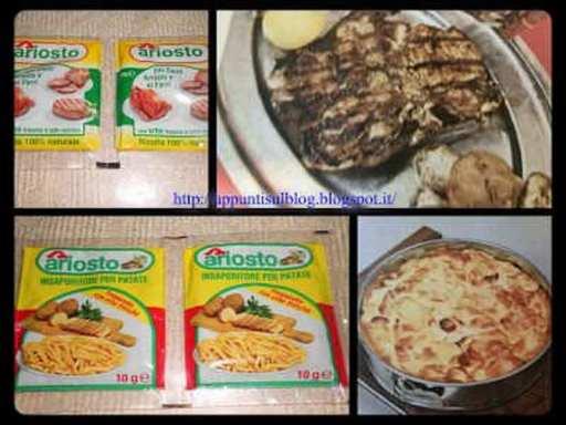 Ariosto spezie insaporitori per arrosti e pesci al forno perfetti