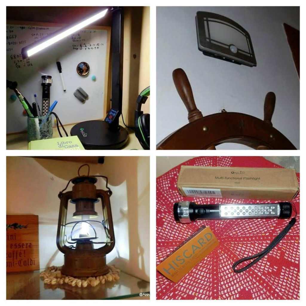 OxyLED lampade LED tecnologiche per visione perfetta