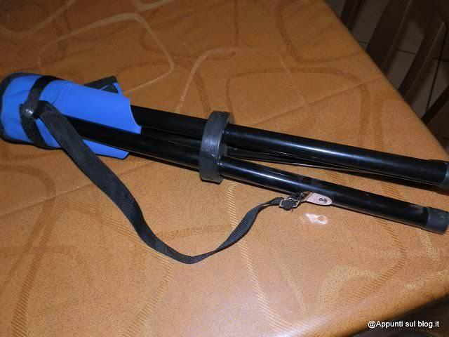 DURAMAXX Sgabello portatile e zanzariera da campeggio 2 articoli per la casa