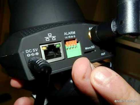 DbPower IP Camera dall'occhio vigile 3 articoli per la casa