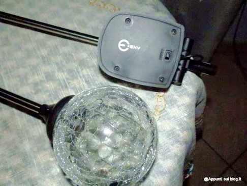 Esky® Sky of Electronics, sfere per illuminare il buio 4 articoli per la casa