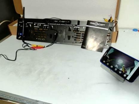 ONECONCEPT RV1: Telecamera retromarcia WIFI 10m