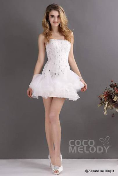 Cocomelody, beach wedding dresses for exotic destination