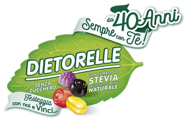 Dietorelle festeggia 40 anni con Le Pandorine 1 alimenti